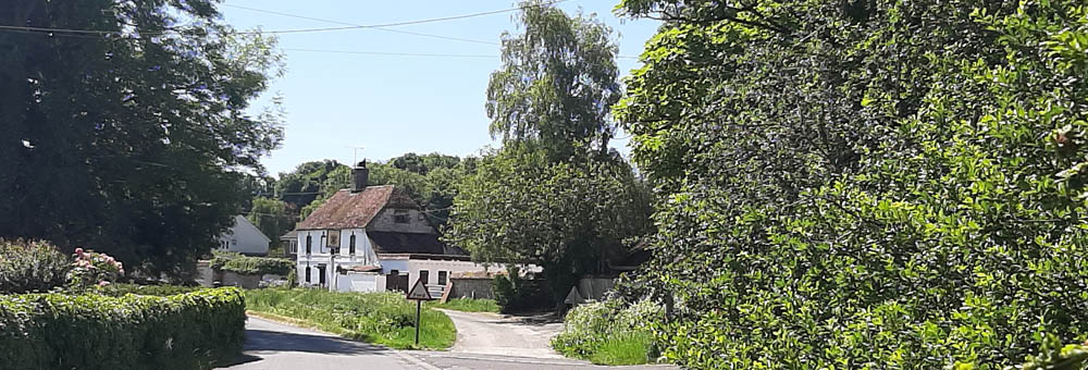 Newton Toney Wiltshire village image
